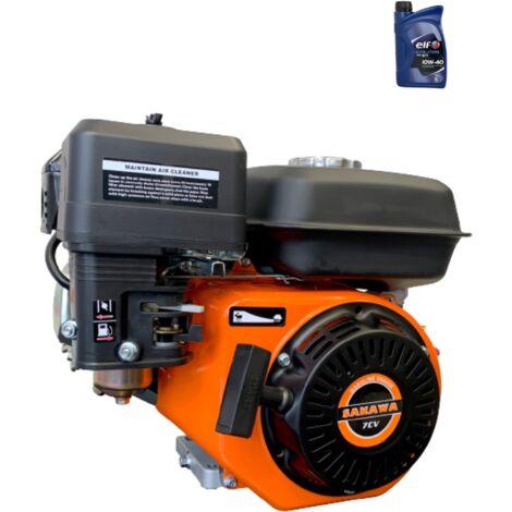 """main image of """"Motor Gasolina 4 Tiempos 208CC 7CV 19 mm + Aceite"""""""