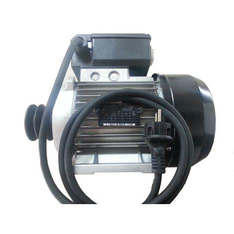 Motor para hormigonera monofásico 0,5CV 0,37Kw 1500 rpm 230Vac