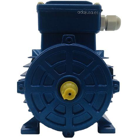 Motor trifásico 0,37Kw/0,5CV 230/400V 3000 rpm Brida B3 Patas carcasa reducida