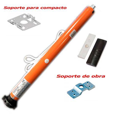 Motor Tubular Via Radio para toldos y persianas - 35 mm - 10 Nm - 20 Kg + Mando