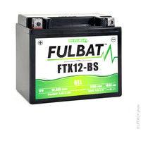 Motorcycle battery Gel YTX12-BS / FTX12-BS 12V 10Ah