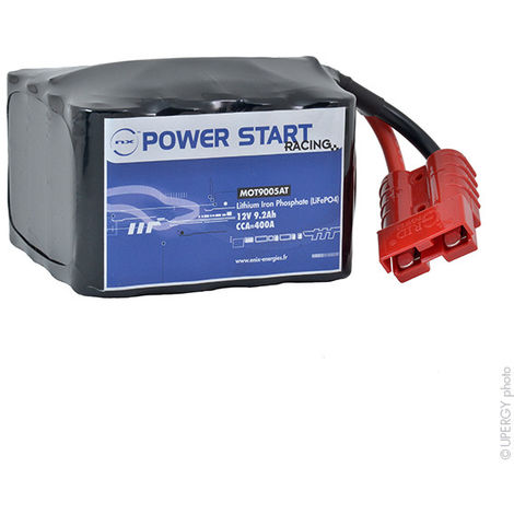Motorcycle battery Lithium NX Power Start Racing 12V 9.2Ah
