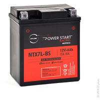 Motorcycle battery YTX7L-BS AGM 12V 6Ah