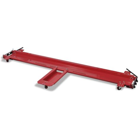 Motorcycle Dolly Red Motorcycle Stand