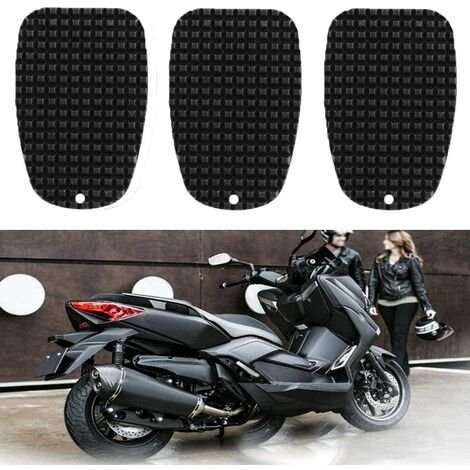 Motorcycle Kickstand Cushion Anti-slip Universal Motorcycle Side Stand Plate Motorcycle Foot Support Plate for Parking on Hot Road, Grass, Soft Ground and More