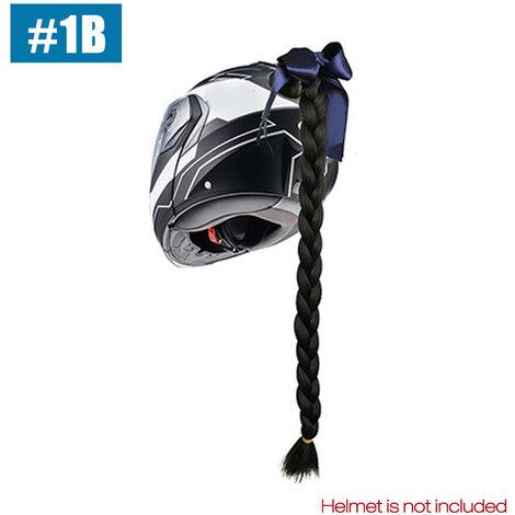 """main image of """"Motorcycles Gradient Ramp Helmet Decorate Braids Retro Motorbike Helmet Braids"""""""
