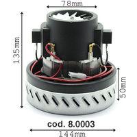 Motore aspirapolvere KARCHER IPC SOTECO GHIBLI LAVOR tipo monostadio by-pass Cod. 8.0003
