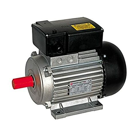"main image of ""Motore elettrico 2,5 HP 1,85kW 2 Poli 2800 giri MEC 80 Monofase 220V Compressore"""