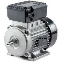 Motore Elettrico Monofase Hp 0,75 Kw 0,55 1400 Giri Mec71 B3 Albero 14 Mm Con Piedini 230 V
