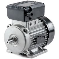 Motore Elettrico Monofase Hp 1,5 Kw 1,1 2800 Giri Mec80 B3 Albero 19 Mm Con Piedini 230 V