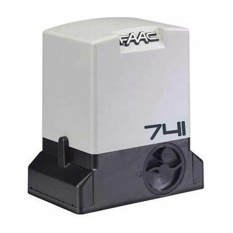 Motoréducteur électromécanique 230V SAFE 741 E Z16 pour portail coulissant 900kg FAAC 109 781 5