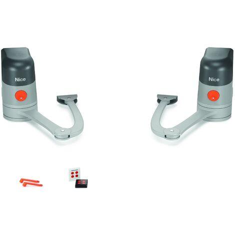 Motorisation portail battant MAESTRO START KIT 200 - MAESTRO200ST/FR06 Nice Home - Gris