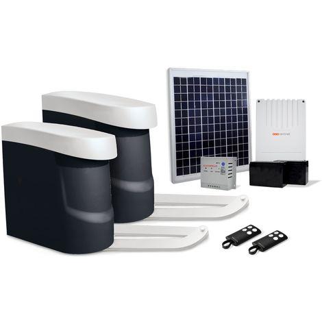 Motorisation portail battant solaire, OPENGATE 2 ECO ENERGY, OPENGATE 2 ECO ENERGY