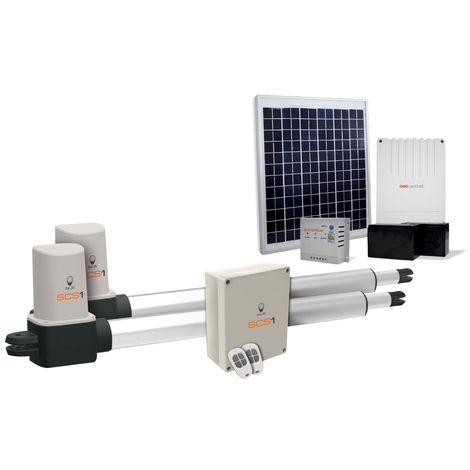 Motorisation portail battant solaire, SCS 1 ECO ENERGY, SCS 1 ECO ENERGY