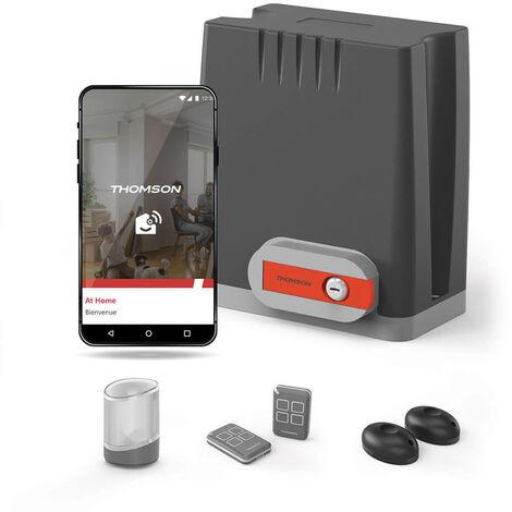 Motorisation pour portail coulissant swip 500 - Thomson Non connecté - Connecté à votre smartphone Android ou Apple