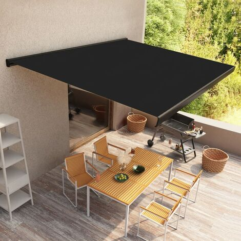Motorised Cassette Awning 300x250 cm Anthracite