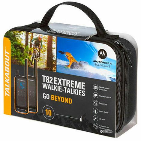 "main image of ""Motorola Walkie-Talkie Motorola T82 Extreme (2 Pcs) Negro Amarillo"""
