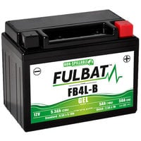 Motorrad Batterie Gel YB4L-B / FB4L-B 12V 5Ah