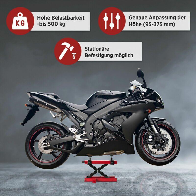 Motorradheber Motoradhebebühne Montagebock Montageständer Hubständer Hebebühne