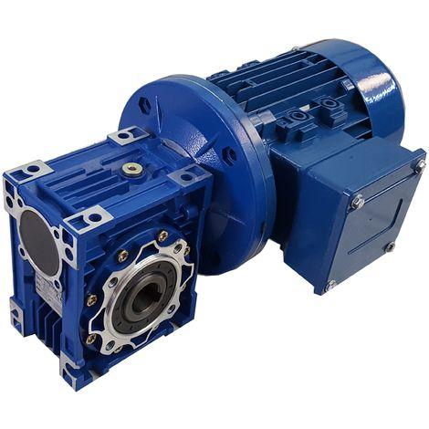 Motorreductor monofásico 0,55kW 0,75CV 230Vac rel 7,5 (373rpm)