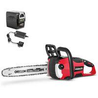 Motosega a batteria 40V + batteria 4Ah + Caricabatterie -GREENCUT