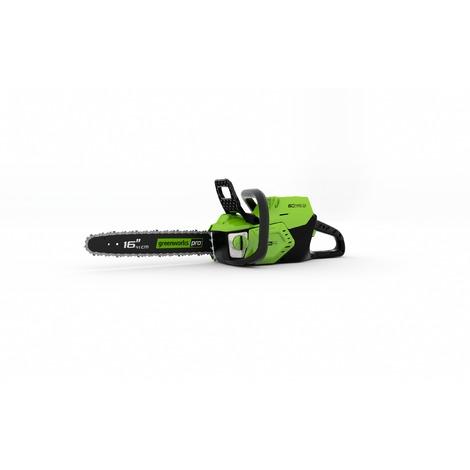 Motosierra batería Greenworks de 60 V GD60CS40 (No incluye batería ni cargador)