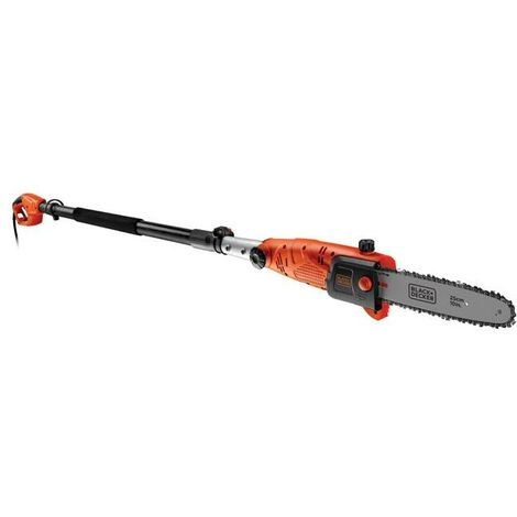 Motosierra de pértiga con cabezal regulable 800 W Black & Decker