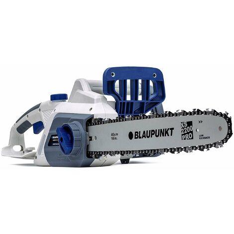 Motosierra eléctrica Blaupunkt CS3000 - 2200W - espada de 40 cm - Sistema SDS