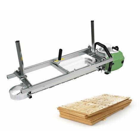 Motosierra Mill Ne Fijación portátil Tablón de madera Madera de 14 '' a 36 '' Guía Hasaki