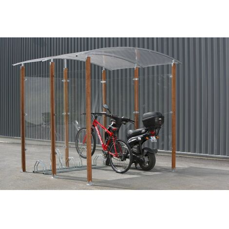 Mottez Abri Pour Vélos De 4m2 Garantie 20 Ans B821c