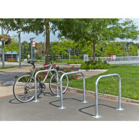 """main image of """"MOTTEZ - Arceau simple range vélo à platine - B883VGA"""""""
