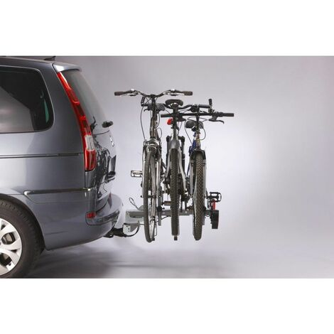 Mottez Porte-vélo plateforme attelage 3 vélos A007P3RA