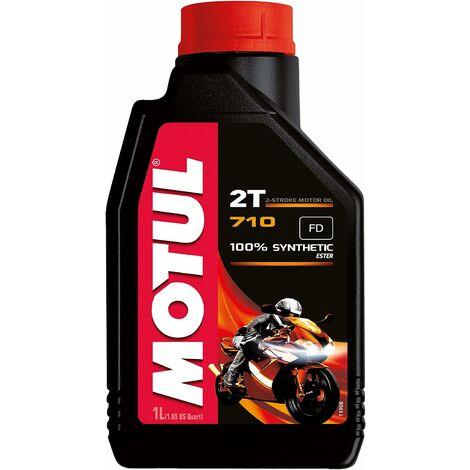 "main image of ""Motul - 104034 - Huile de moteur 2T 710 - 100% synthetic Ester - 1L"""
