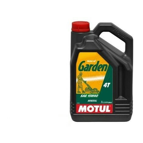 MOTUL huile 4 temps outil jardin 15W-40 5L MT-101312