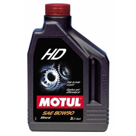 MOTUL Huile de boite HD 80W90 2L bidon