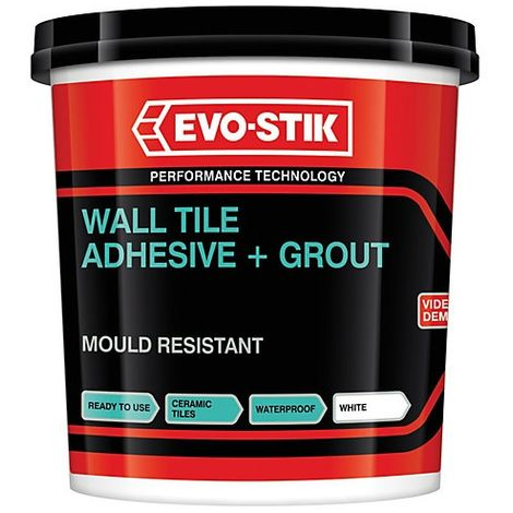 Mould Resistant Wall Tile Adhesive & Grout