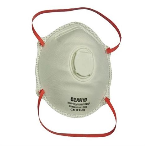 Moulded Disposable Valved Masks