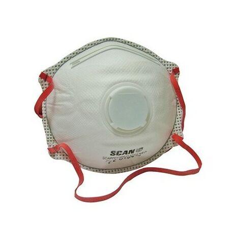 Moulded Disposable Valved Masks