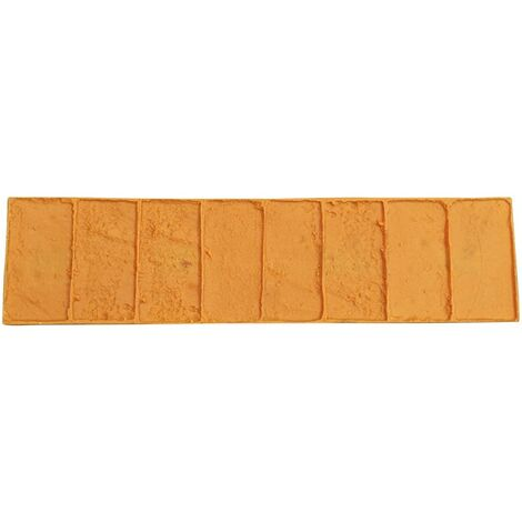 Moule bordure simple brique - Empreinte bordure brique - Harmony Béton