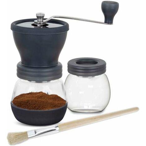 café expresso Moulin à café manuel réglable broyeur céramique moulin à main