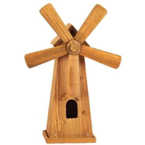 Moulin à vent en bois 42x17cm Smart Garden