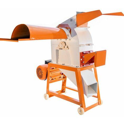 Moulin broyeur 3000W pour foin paille céréales Ruris A11