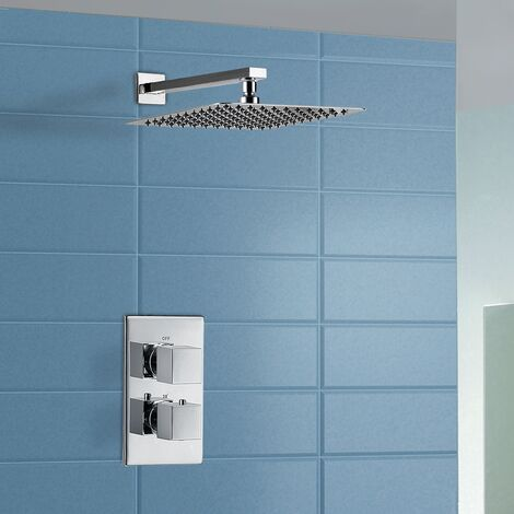 Moulin Waterfall Shower Mixer with Thermostatic Control