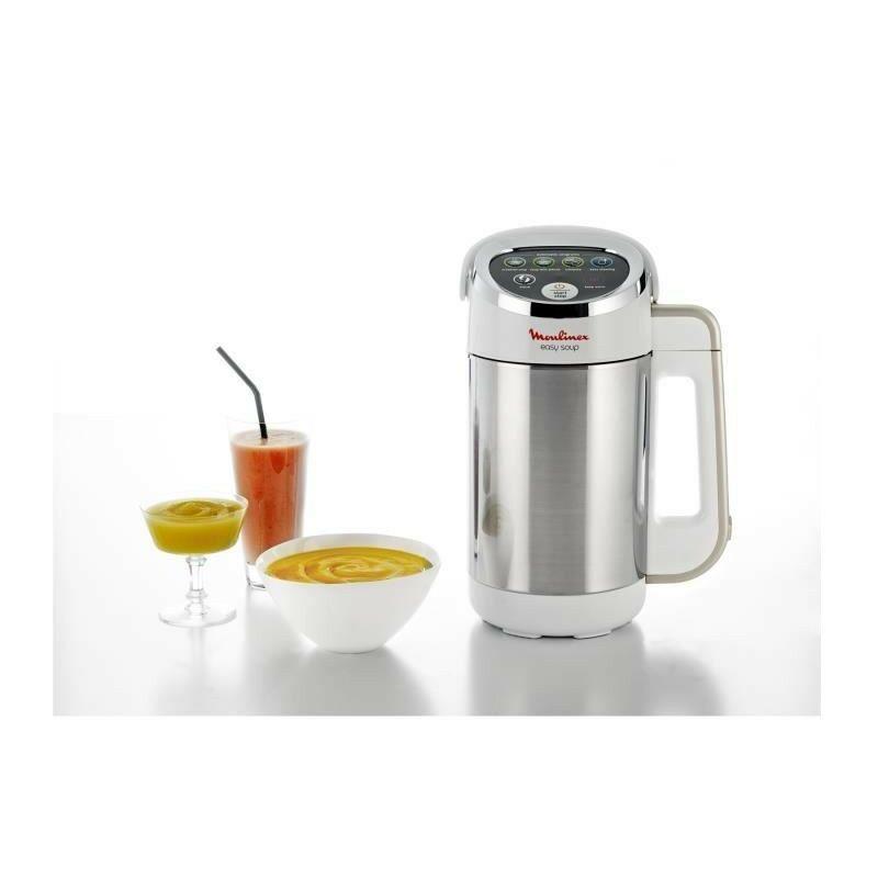 Blender chauffant Easy Soup - LM841110 - 1,2 L - Blanc - Moulinex