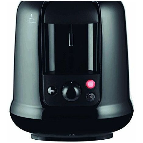 """main image of """"Moulinex Subito 2slice(s) 850W Black,Stainless steel toaster"""""""