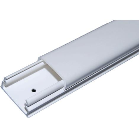 Moulure 34x16mm - TM Optima - Blanc - Iboco