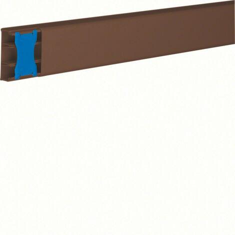 Moulure ATA 20x50 2 cloisons Marron (ATA205028014)