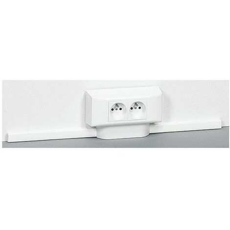 Moulure blanc 40x16 30021