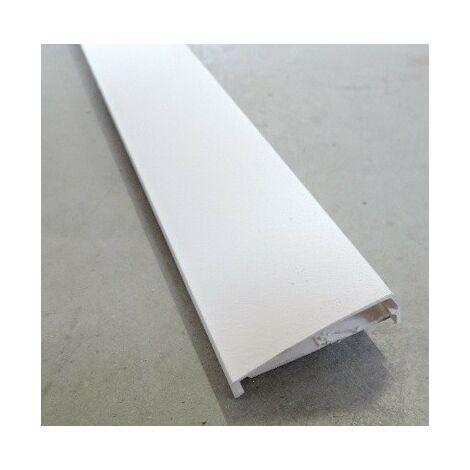 Moulure blanche déco finition Plâtre 40x12mm sans cloison (Au mètre) LEGRAND 019003