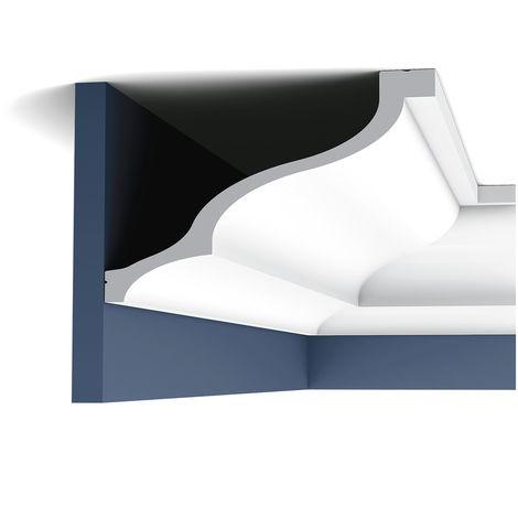 Moulure Cimaise Corniche Décoration de stuc Orac Decor C337 LUXXUS Profil Elément décoratif pour mur et plafond 2 m